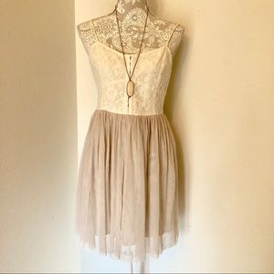 AEO Tulle & Lace Dress 👗